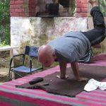 Yoga at Akshya Vat